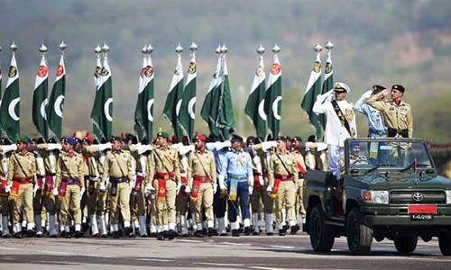Pakistan Day celebrations: Civil-military leaders, foreign dignitaries attend military parade in Islamabad