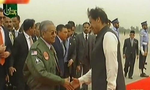 ملائیشیا کے وزیر اعظم مہاتیر محمد دورہ پاکستان مکمل کرکے روانہ