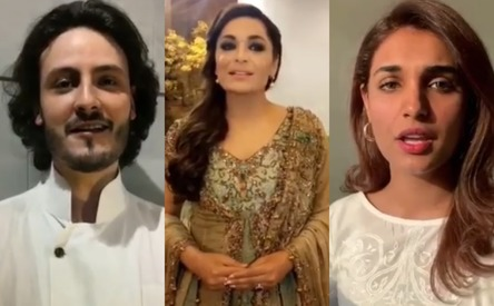 Meera and Baaji cast celebrate 23 March with a tribute to Pakistan
