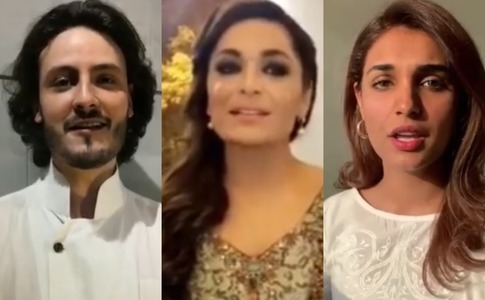 Meera and her Baaji co-stars get musical for Pakistan Day