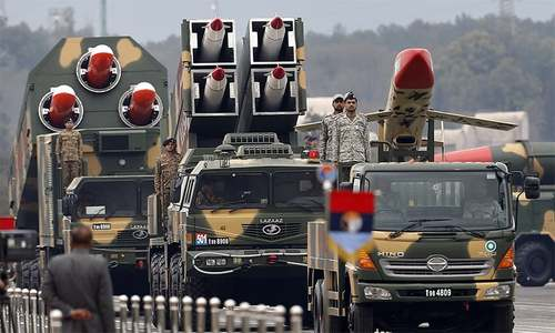 In pictures: Pakistan shows off military might at annual parade
