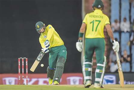 South Africa seal T20 series despite Udana heroics