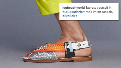 Christian Louboutin just reinvented Peshawari chappals and he's calling them 'Imran sandals'