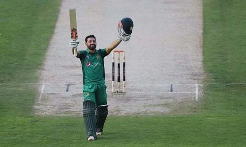 Ton-up Rizwan guides Pakistan to 284-7 against Australia in second ODI