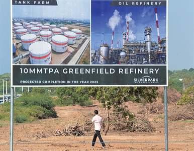 Lanka begins work on refinery near China-run port