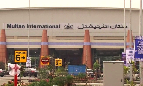 Flights to Multan airport resume after early morning suspension of operations