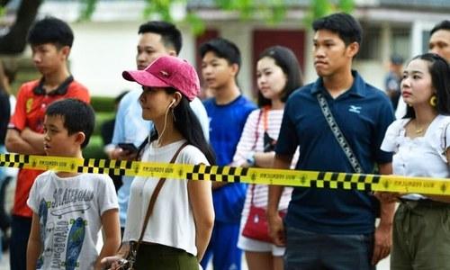 تھائی لینڈ: انتخابات میں فوج کی حمایت یافتہ پارٹی آگے