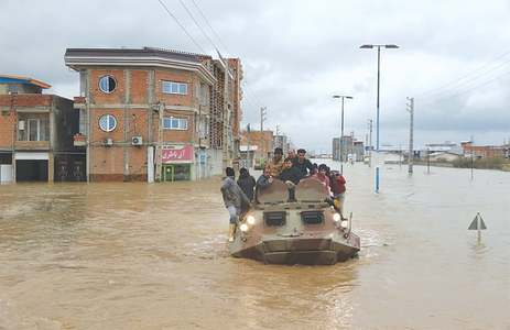 18 die as Iran faces unprecedented floods