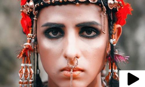 پاکستان کی پہلی خواجہ سرا ماڈل کا نئی فلم بنانے کا اعلان