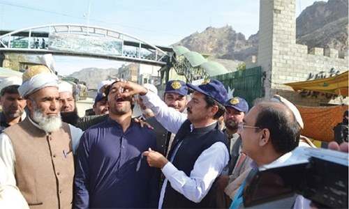 Levies, Khasadar personnel boycott polio duty in tribal districts