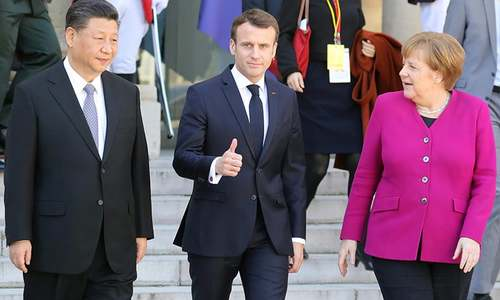 China and EU 'advancing together', says Xi, amid US tensions