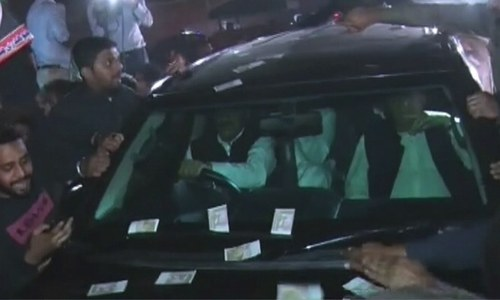 Nawaz released from jail after SC approves 6-week bail for medical treatment within Pakistan