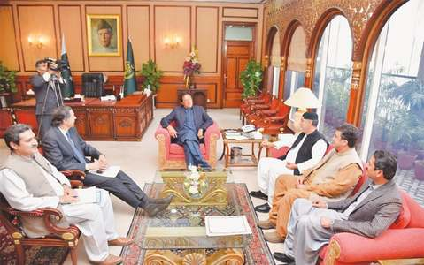Mengal calls on PM to discuss coalition matters