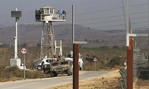 UN to meet on Golan at Syria's request
