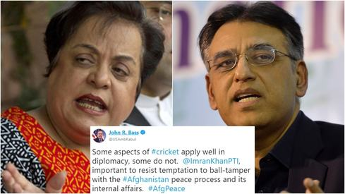 Shireen Mazari and Asad Umar rush to defend Imran Khan after he's accused of 'ball tampering'