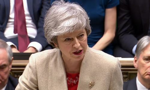 Death knell for British PM May's Brexit deal as lawmakers reject it by 286 to 344