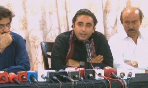 Bilawal insists probe of fake accounts case should be held in Sindh