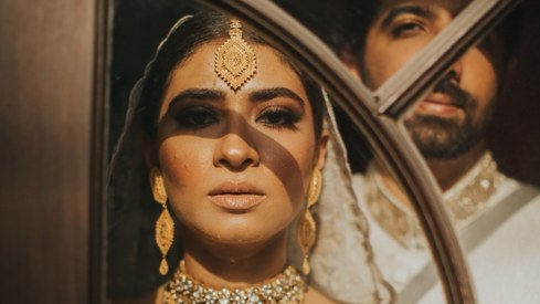 Celebrity stylist Mehek Saeed decodes her own enchanting bridal looks