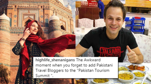 The Pakistan Tourism Summit features international travel bloggers — but where are the local influencers?