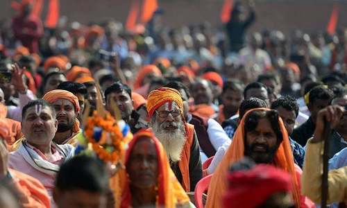 India's Hindu groups quietly put controversial temple plan on backburner