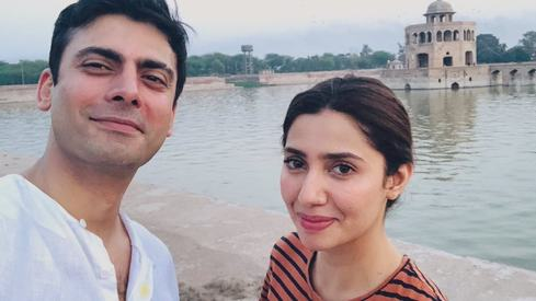 Mahira and Fawad Khan's latest selfie will get you excited for The Legend of Maula Jatt