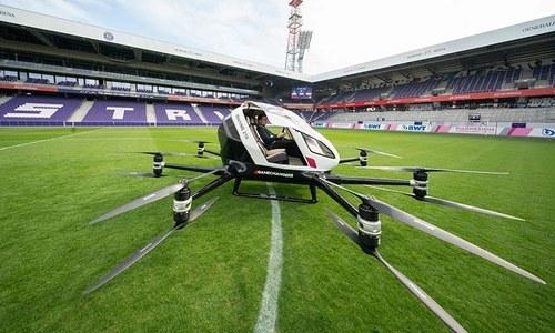 Pilotless 'air taxi' in Vienna test-flight