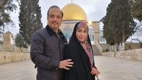 Reema Khan just took a trip to Jerusalem