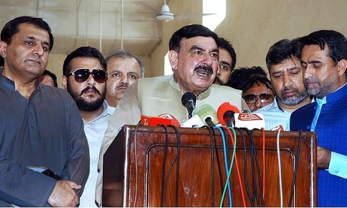 Freight train derailment: Rashid dissolves probe body, suspends its head