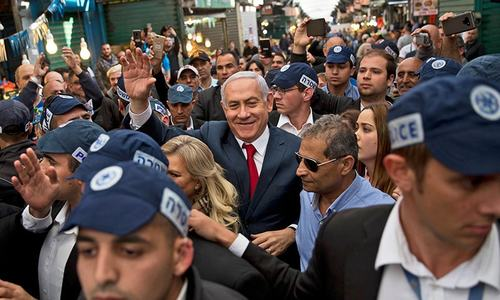 As Israelis head to polls, it's all about one man: Benjamin Netanyahu