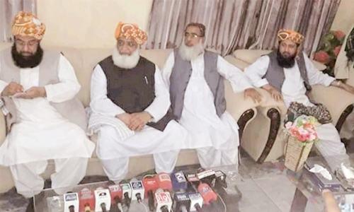 JUI-F march to Islamabad will bring down PTI govt: Fazl