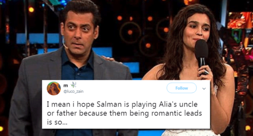 Are Salman Khan and Alia Bhatt romancing in Bhansali's next? Twitter sure hopes not
