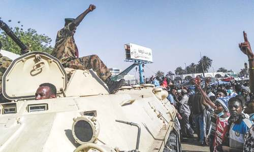 Sudan military, police declare they won't act against protesters