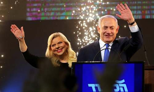 Israel's Netanyahu secures election victory: Israeli TV channels