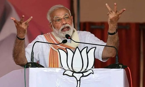 Indian election commission seeks report on Modi's reference to armed forces in political speech