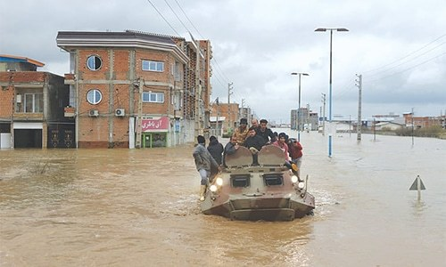 Pakistan dispatches first shipment of relief goods to flood-hit Iran
