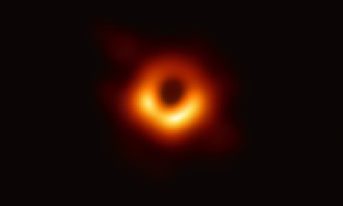 Scientists reveal first-ever image of a black hole
