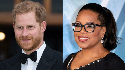 Prince Harry and Oprah Winfrey are making a documentary series about mental health