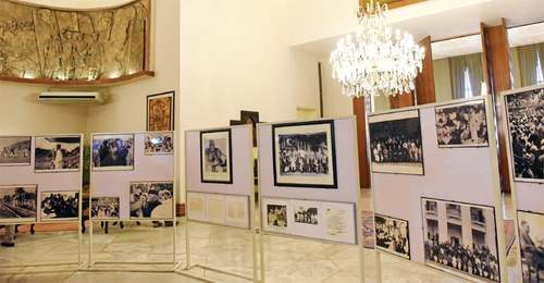 Presidency opens its doors for historical exhibition