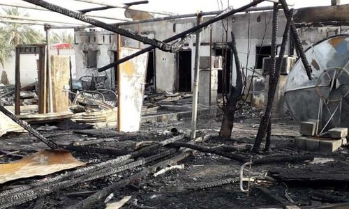 Bodies of 6 Pakistanis who died in a fire in UAE reach Islamabad