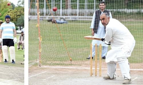 NA speaker inaugurates parliamentarians' cricket camp