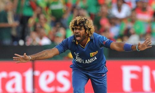 سری لنکا نے ملنگا کو ورلڈ کپ سے قبل ٹیم کی قیادت سے ہٹا دیا