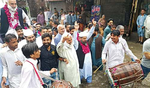 PML-N defeats 'Q' to bag Gujrat mayor slot in a tough contest