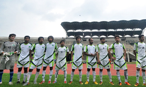 Pakistan players hope to play World Cup qualifier against Cambodia