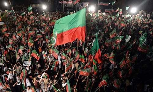 تحریک انصاف کا اپنی 7ذیلی تنظیموں سے لاتعلقی کا اعلان