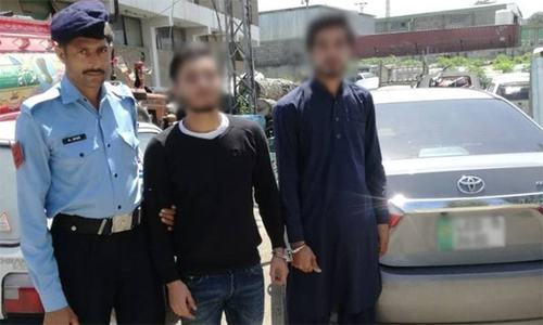 اسلام آباد: کینیڈین ماڈل کو ہراساں کرنے والے 2 افراد گرفتار