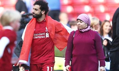مصری فٹ بالر مسلم ممالک میں خواتین کے ساتھ برتاؤ میں بہتری کے خواہاں