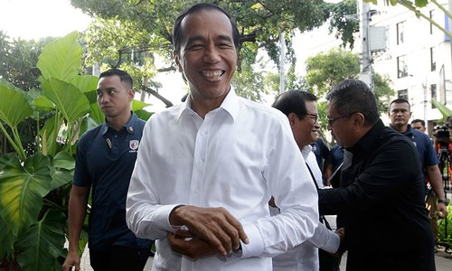 انڈونیشیا کے صدارتی انتخابات میں ایک بار پھر ویدودو کامیاب