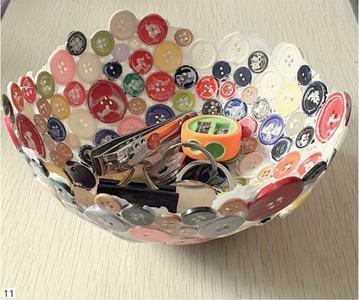 Wonder Craft: Button bowl