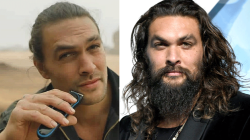 Jason Momoa shaves signature beard for the environment and fans are shook