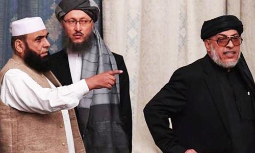 افغان وفد پر طالبان کے اعتراض کے بعد امن مذاکرات ملتوی
